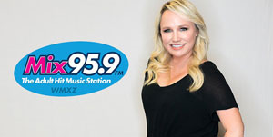 Brooke Ryan - 2 Girls and a Guy Morning Show - Mix 95.9